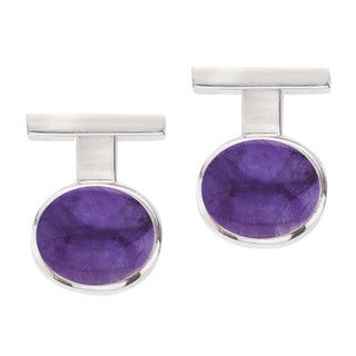 Sterling Silver and Amethyst Earrings by Ever One