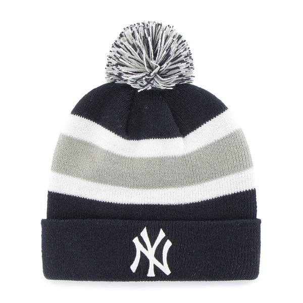 Shop New York Yankees MLB Knit Beanie - Free Shipping On Orders Over  45 -  Overstock.com - 13056007 82ad4007fab