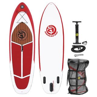 Airhead Cruise 930 White/red PVC Inflatable Stand Up Paddleboard|https://ak1.ostkcdn.com/images/products/13056008/P19793390.jpg?impolicy=medium