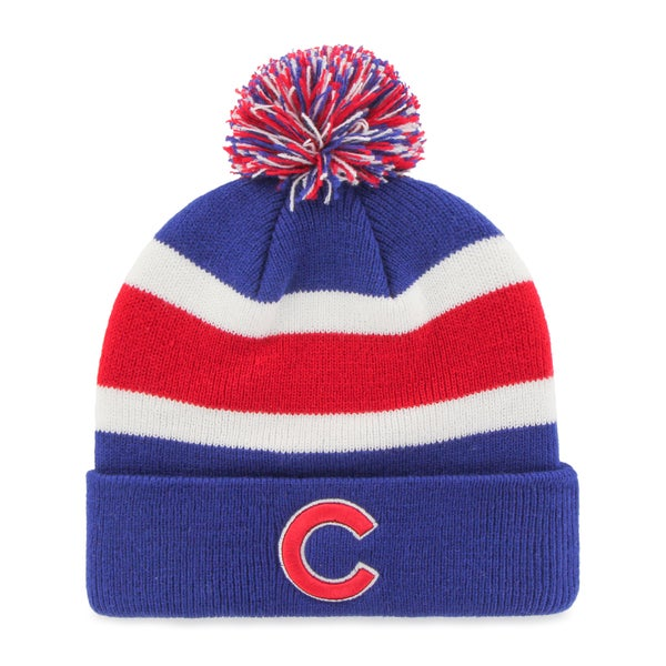 9932720416c10 Shop Chicago Cubs MLB Knit Beanie - Free Shipping On Orders Over  45 ...