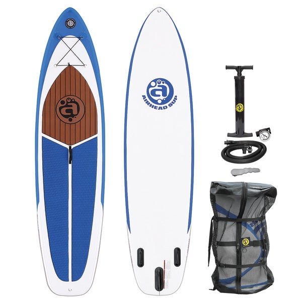 Airhead Cruise1030 Wjite Blue PVC Inflatable Stand Up Paddleboard