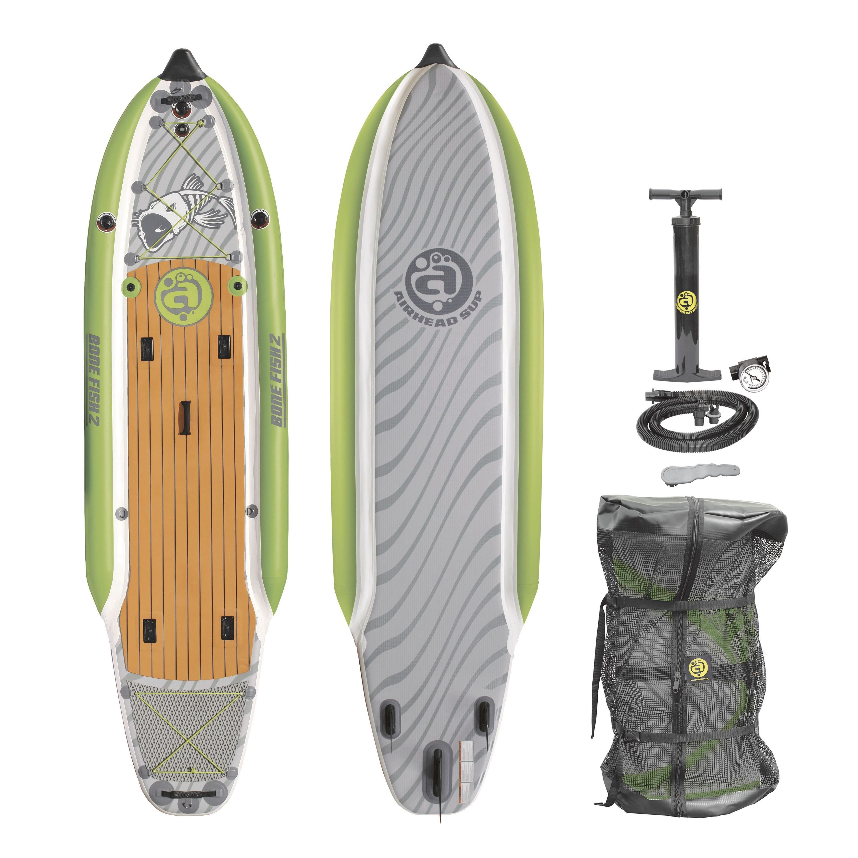 Airhead Multicolored PVC/EVA Stand Up Paddleboard (Stand ...