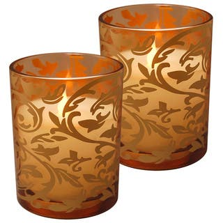 Jaquard-design 2-piece Battery-operated LED Candle Pack|https://ak1.ostkcdn.com/images/products/13056114/P19793396.jpg?impolicy=medium