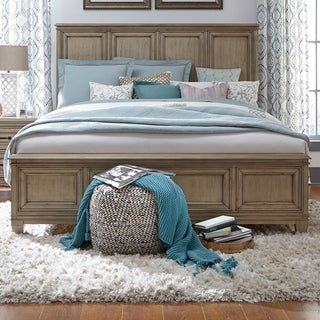 Grayton Grove Driftwood Panel Bed