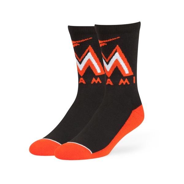 Miami Marlins MLB Arena Crew Socks