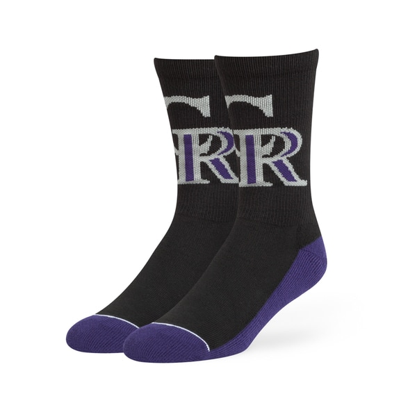 Colorado Rockies MLB Arena Crew Socks