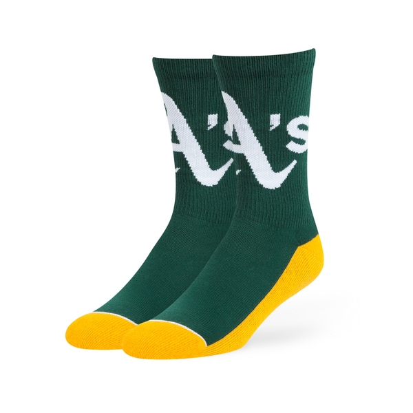 Oakland Athletics MLB Arena Crew Socks