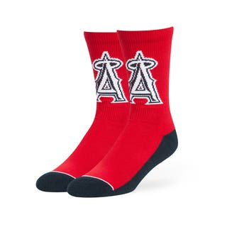 Los Angeles Angels MLB Arena Crew Socks|https://ak1.ostkcdn.com/images/products/13056604/P19794039.jpg?impolicy=medium