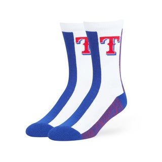 Texas Rangers MLB Everett Crew Socks