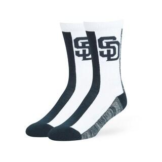 San Diego Padres MLB Everett Crew Socks