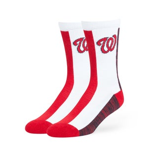 Washington Nationals MLB Everett Crew Socks