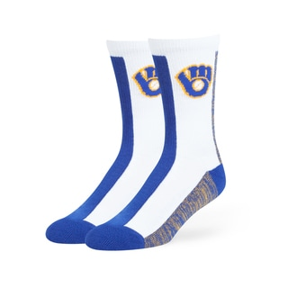 Milwaukee Brewers MLB Everett Crew Socks
