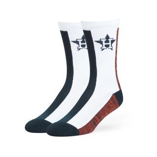 Houston Astros MLB Everett Crew Socks
