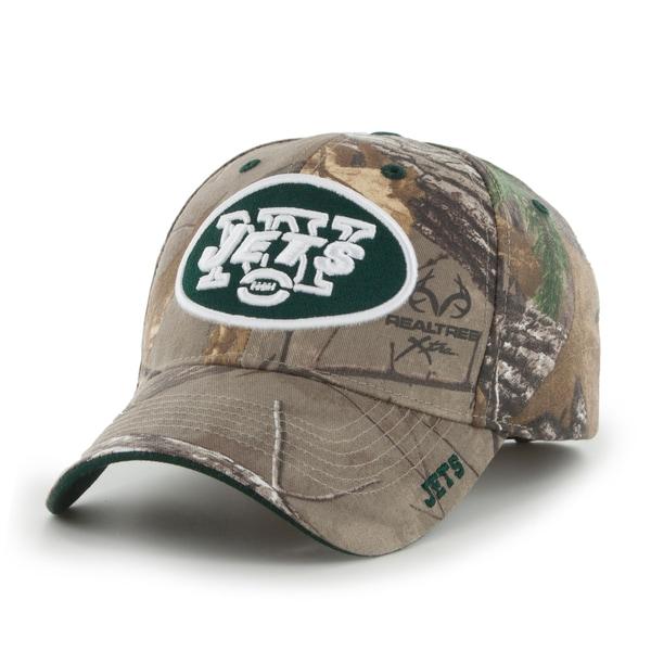 New York Jets NFL RealTree Cap