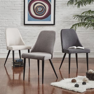 Cecelia Espresso Wingback Dining Chair by MID-CENTURY LIVING (Set of 2)