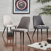 Cecelia Espresso Wingback Dining Chair (Set of 2) by iNSPIRE Q Modern