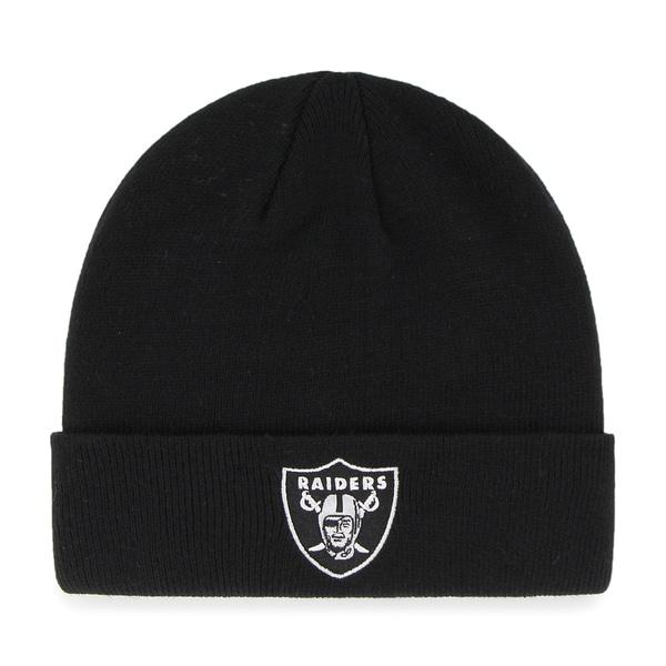 Oakland Raiders NFL Cuff Knit