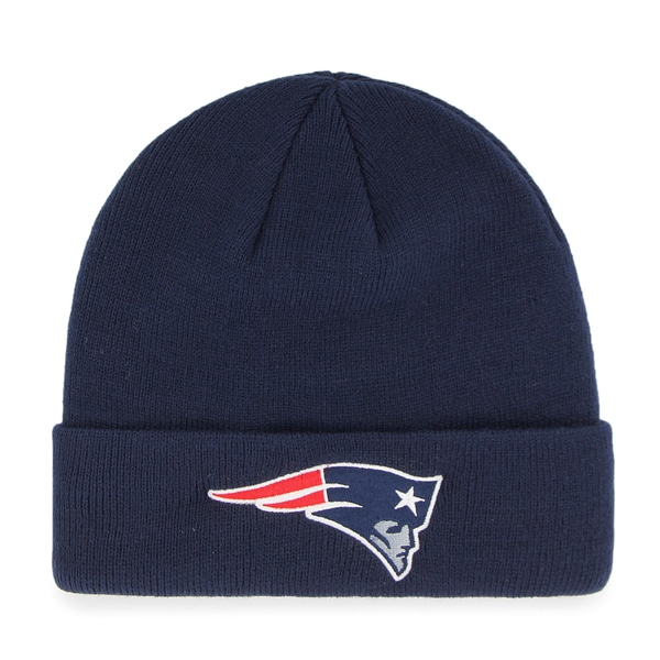 42231b188fc684 Shop New England Patriots NFL Cuff Knit - Free Shipping On Orders Over $45  - Overstock - 13059033