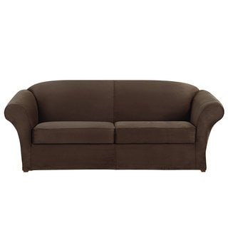 Sure Fit Ultimate Stretch Suede Sofa Slipcover
