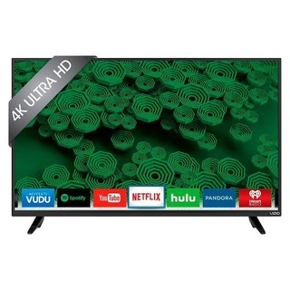 Vizio D50U-D1 D-Series 50-inch Class UHD 120Hz Full Array LED Smart TV - Refurbished