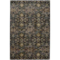 Mohawk Home Savannah Ellis Blue Slate Area Rug (8' x 11') - 8' x 11'