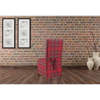 Sure Fit Highland Holiday Plaid Dining Room Chair Slipcover