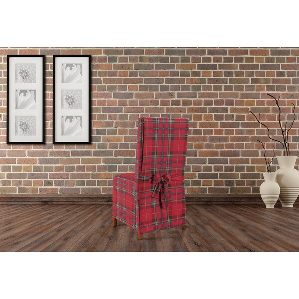 Plaid Dining Chair Covers Summervilleaugusta Org
