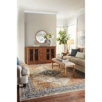 Mohawk Providence Parlin Berry Area Rug (8' x 11')