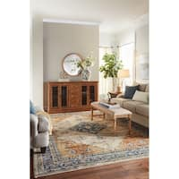 Mohawk Home Providence Parlin Berry Area Rug (8' x 11') - 8' x 11'