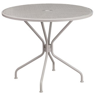 35.25 inch Steel Patio Table