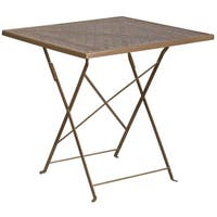 """28 inch Folding Patio Table - 28"""""""