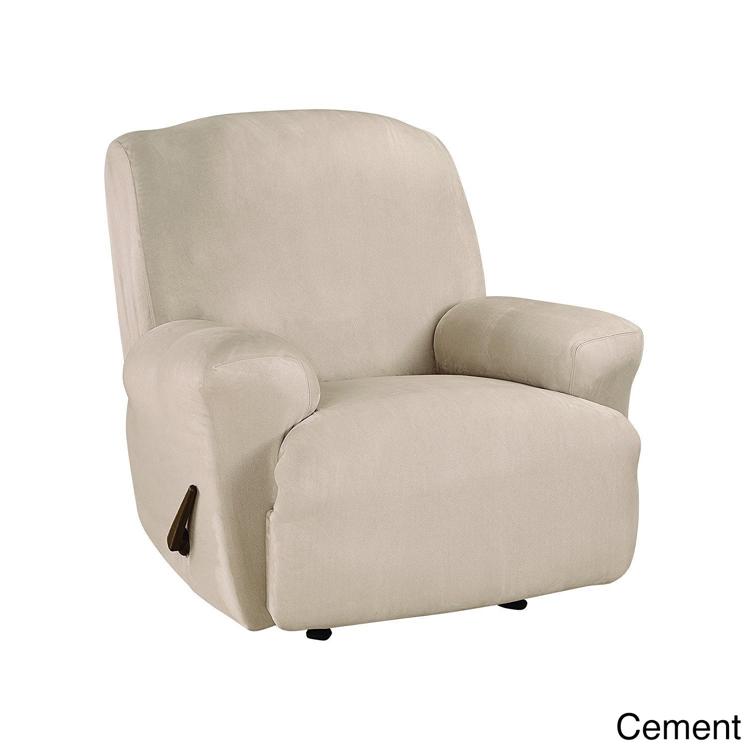 Sure Fit Ultimate Stretch Suede Recliner Slipcover