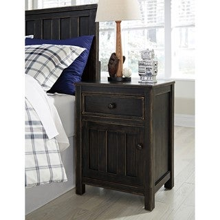 Signature Design by Ashley Jaysom Black Night Stand