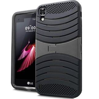 LG X Power K210 K6P Blue/Black/Pink TPU/PC Armor Case