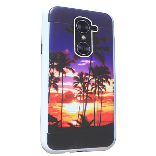 best sneakers 416fa 1d1cd Shop ZTE ZMAX Pro Z981 Brushed 3D Image Protective Case - Free ...