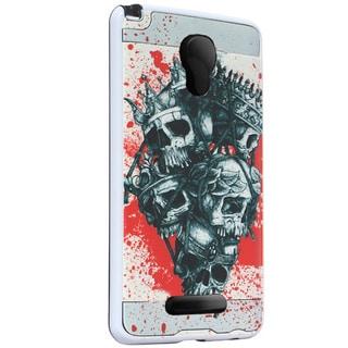 Alcatel Fierce 4 5056 Brushed 3D Image TPU XL Protective Case