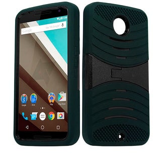 Armor Polycarbonate and TPU Case With Stand for Motorola Nexus 6