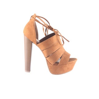 Hadari Women's High Heels Platform Open Peep Toe Dress Sandal