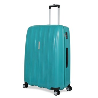 SwissGear Teal Polypropylene 28-inch Hardside Spinner Suitcase