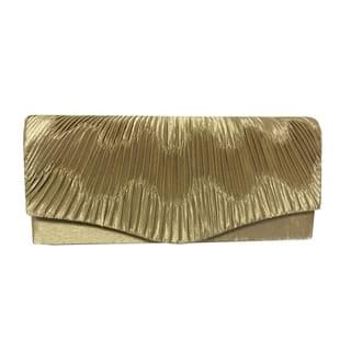 Alfa Black/Gold/Silver Fabric/Faux Leather/Satin Elegant Evening Clutch Handbag|https://ak1.ostkcdn.com/images/products/13082331/P19817238.jpg?impolicy=medium