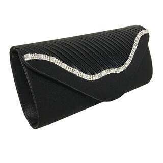 Alfa Elegant Black Faux Leather Fabric Evening Clutch Handbag|https://ak1.ostkcdn.com/images/products/13082340/P19817242.jpg?impolicy=medium