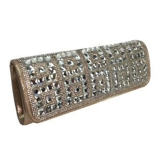 Alfa Gold Evening Clutch Handbag