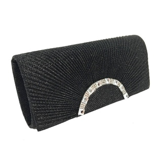 Alfa Black Evening Clutch Handbag