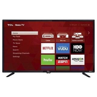 TCL Refurbished 32-inch 720p 60Hz Roku Smart LED TV