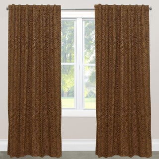 Skyline Furniture Cheetah Earth Cotton Blackout Window Curtain Panel