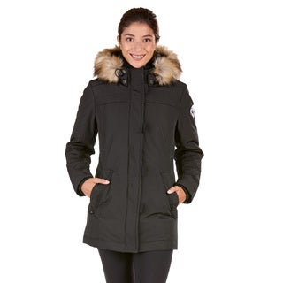 Women's Fur Hood Down Jacket