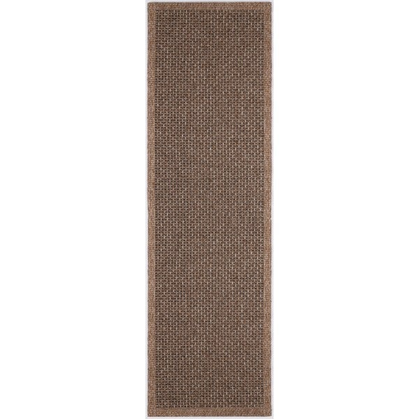 Seros Modern 'Spice' Indoor/Outdoor Area Rug (2'6 x 7'3)