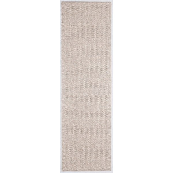 Seros Modern Cream Indoor/Outdoor Area Rug (2'6 x 11')