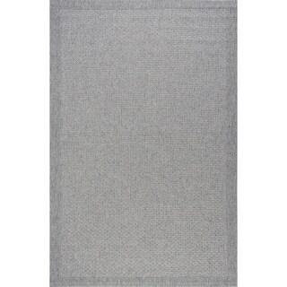 Seros Modern Grey Indoor/Outdoor Area Rug - 7'2 x 10'2
