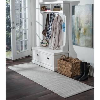 Seros Modern Grey Polypropylene Indoor/Outdoor Area Rug (2'6 x 7'3) https://ak1.ostkcdn.com/images/products/13083600/P19818156.jpg?impolicy=medium